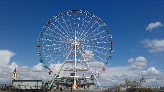 50m摩天轮 Ferris Wheels